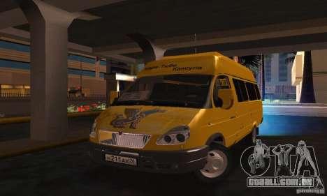Gazela 2705 Minibus para GTA San Andreas