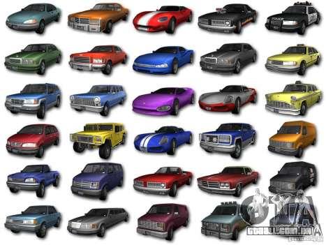 GTA3 HD Vehicles Tri-Pack III v.1.1 para GTA San Andreas esquerda vista
