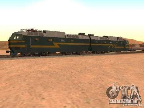 Cs7 233 para GTA San Andreas esquerda vista