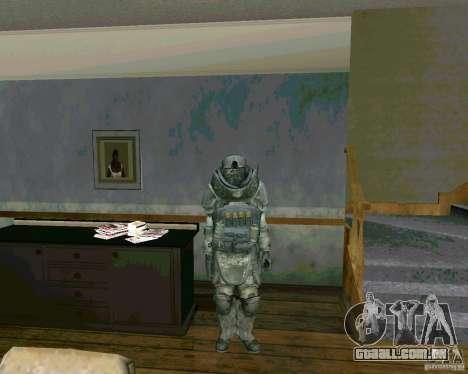 Džagiraut de Cod MW 3 para GTA San Andreas segunda tela