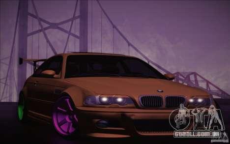 BMW M3 E46 v1.0 para GTA San Andreas