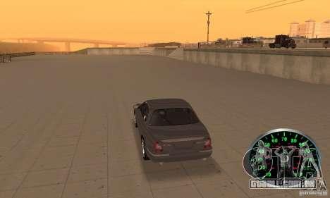 Velocímetro v. 2.0 para GTA San Andreas segunda tela