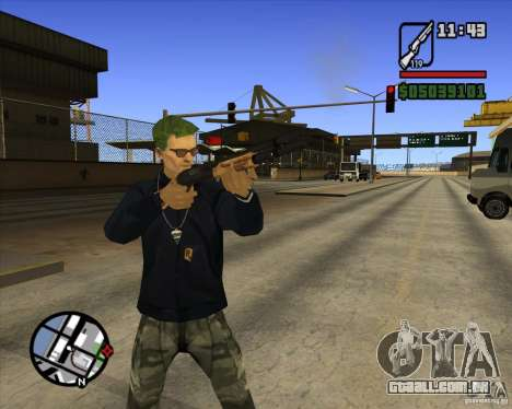 Claude Speed beta4 para GTA San Andreas terceira tela