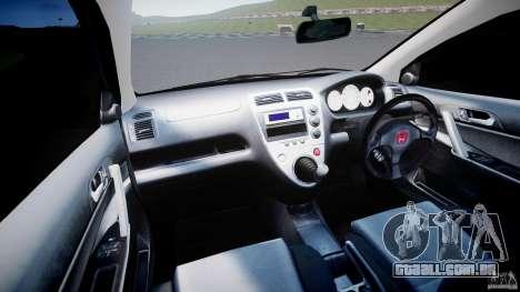 Honda Civic Type-R para GTA 4 vista direita