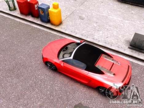 Audi R8 Spyder 5.2 FSI quattro V4 EPM para GTA 4 vista de volta