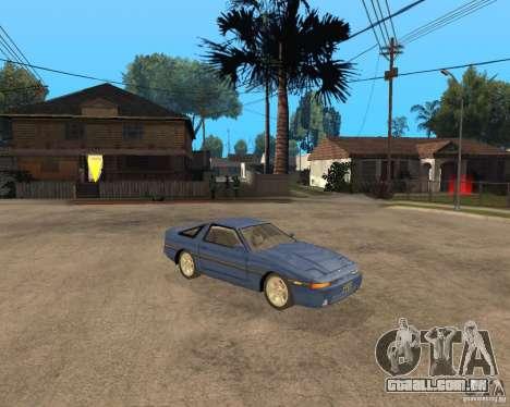 Toyota Supra MK3 para GTA San Andreas vista direita