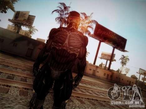 Crysis 2 Nano-Suit HD para GTA San Andreas