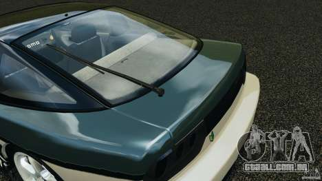 Nissan 240SX Time Attack para GTA 4 vista inferior