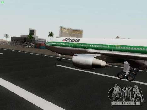 McDonell Douglas DC-10-30 Alitalia para GTA San Andreas esquerda vista