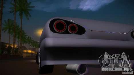 Elegy Drift para GTA San Andreas vista interior