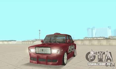 VAZ 2107 Ex Tuning para GTA San Andreas