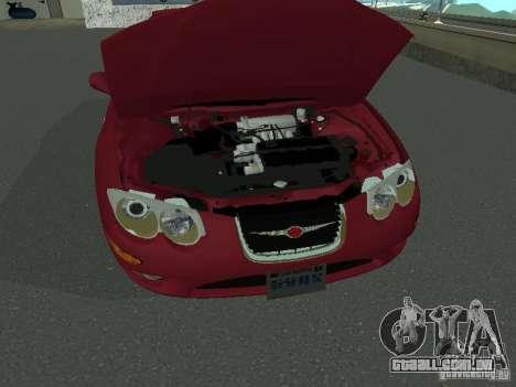 Chrysler 300M para GTA San Andreas vista direita