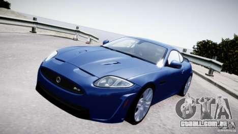 Jaguar XKR-S 2012 para GTA 4 vista direita
