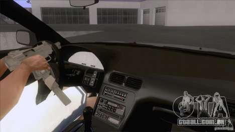 Nissan Sil80 para GTA San Andreas vista interior