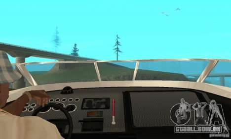 GTAIV Tropic para GTA San Andreas vista traseira