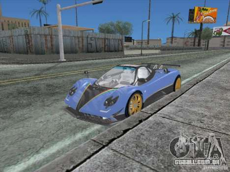 Los Angeles ENB modification Version 1.0 para GTA San Andreas sexta tela