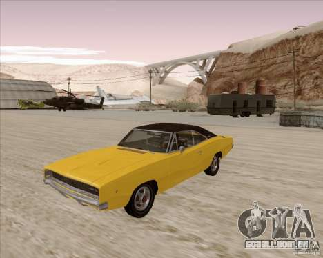 Dodge Charger RT 1968 Bullit clone para GTA San Andreas