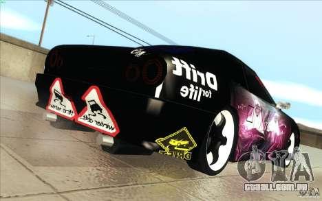 Forsage para GTA San Andreas vista traseira