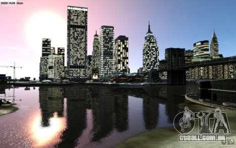 Telas de menu e inicialização de Liberty City em para GTA San Andreas décima primeira imagem de tela