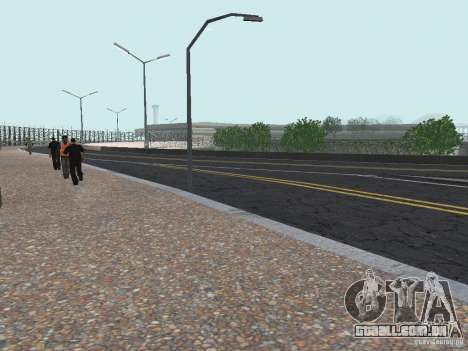 New Airport San Fierro para GTA San Andreas terceira tela