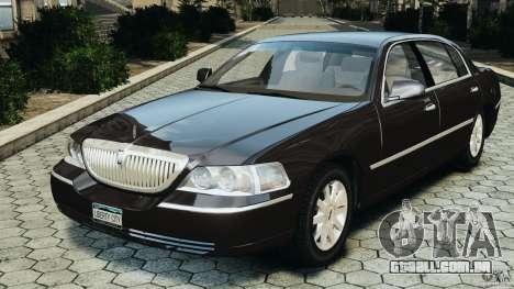 Lincoln Town Car 2006 v1.0 para GTA 4