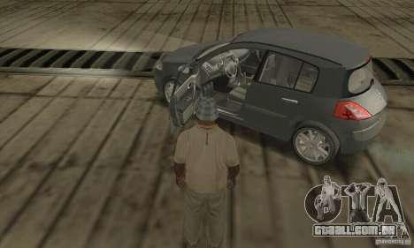 Renault Megane II 2005 para GTA San Andreas vista traseira