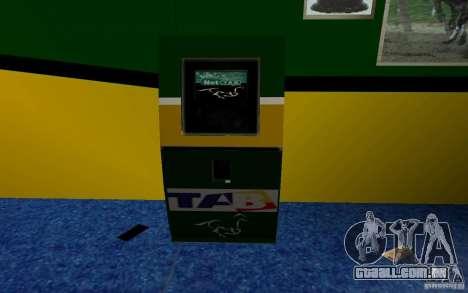 Novo escritório de Bukmejkerskaâ para GTA San Andreas segunda tela