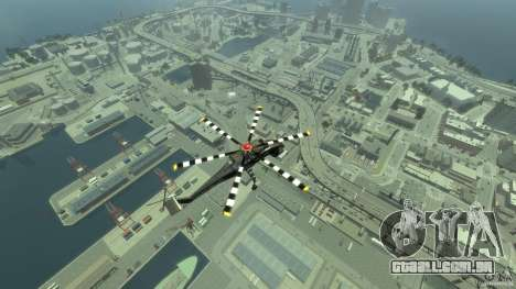 Liberty Sky-lift para GTA 4 vista lateral