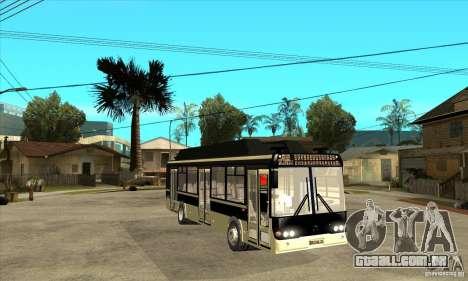 LIAZ 5256 para GTA San Andreas vista traseira