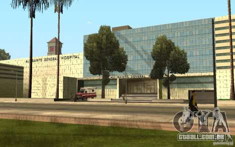 UGP Moscow New General Hospital para GTA San Andreas