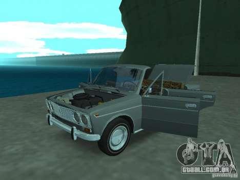 VAZ 2103 Cabrio para GTA San Andreas vista traseira
