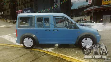 Ford Connect 2007 para GTA 4 esquerda vista