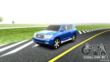Toyota Land Cruiser 200 RESTALE para GTA 4