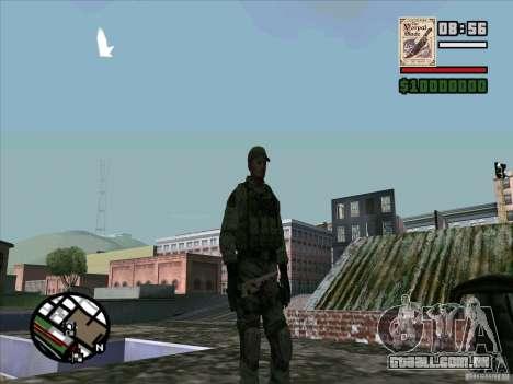 Dave de Resident Evil para GTA San Andreas por diante tela