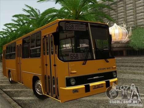 IKARUS 260 para GTA San Andreas vista traseira