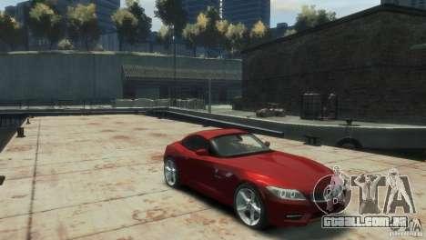 BMW Z4 para GTA 4 vista direita