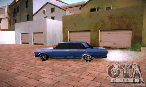 Vaz-2107 para GTA San Andreas esquerda vista