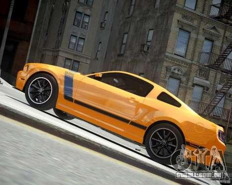 Ford Mustang Boss para GTA 4 vista de volta