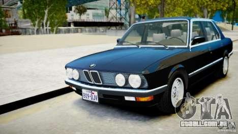 BMW 535 E28 para GTA 4