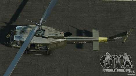Bell UH-1 Iroquois para GTA 4 vista direita