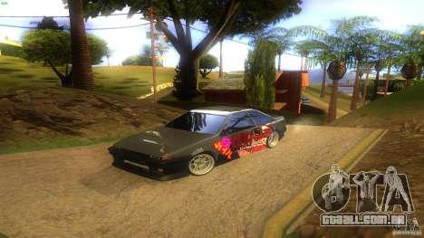 Toyota AE86 Coupe - Final para GTA San Andreas