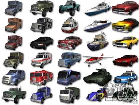 GTA3 HD Vehicles Tri-Pack III v.1.1 para GTA San Andreas traseira esquerda vista