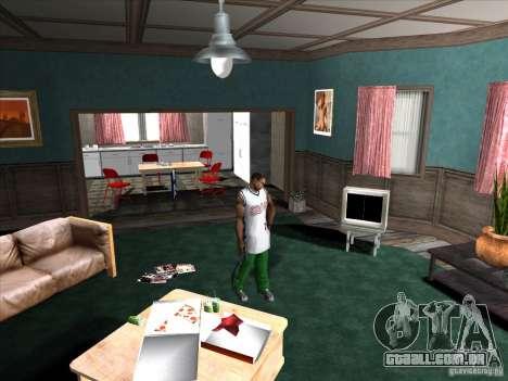Parafuso/desaparafusar o silenciador para GTA San Andreas segunda tela