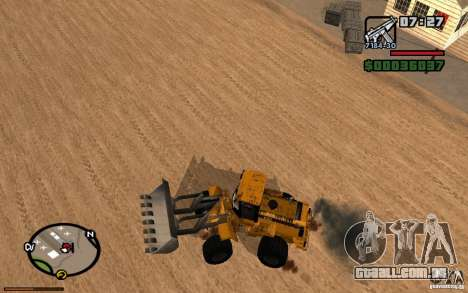 Painel ativo v. 3.2 (b) para GTA San Andreas terceira tela