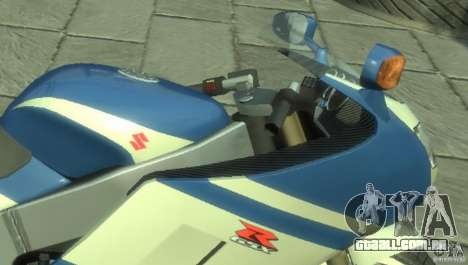 NRG900 to Suzuki GSX-R para GTA 4 esquerda vista