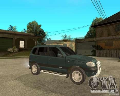 NIVA Chevrolet para GTA San Andreas vista direita