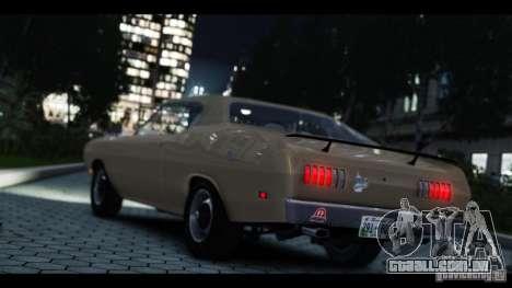 Dodge Demon 1971 para GTA 4 vista de volta
