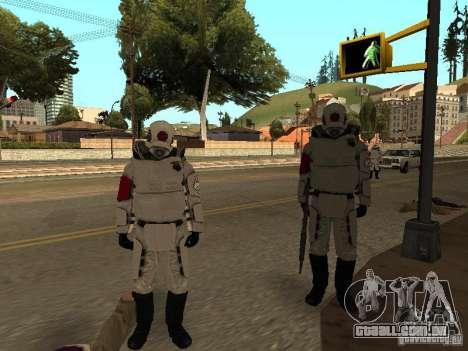 Cops from Half-life 2 para GTA San Andreas por diante tela
