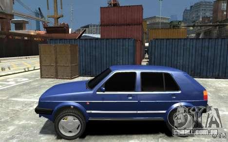 Volkswagen Golf II Country 1990 para GTA 4 esquerda vista