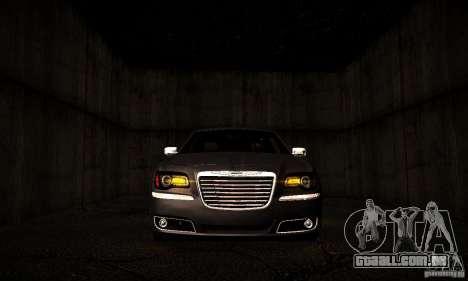 Chrysler 300c para GTA San Andreas vista interior